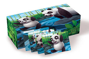 Panda - 400ct Card Box