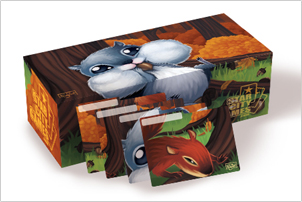 Squirrel - 400ct Card Box