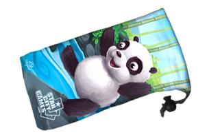 Panda - Microfiber Dice Bag