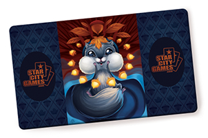 Squirrelstorm - Playmat