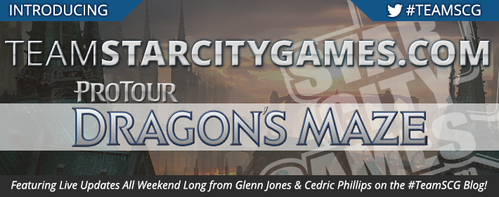 StarCityGames.com at Pro Tour Dragon's Maze!
