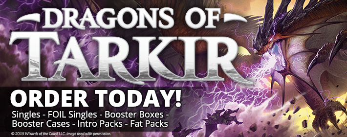Order Dragons of Tarkir Today!