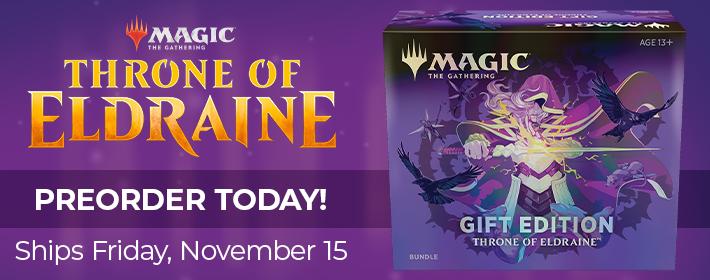 MTG Throne of Eldraine Gift Edition - Preorder Today!