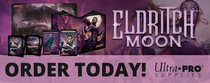 Eldritch Moon Ultra Pro supplies available today!