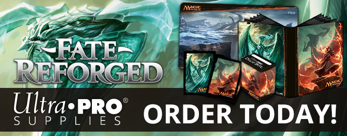 Preorder Ultra Pro Products for Fate Reforged!