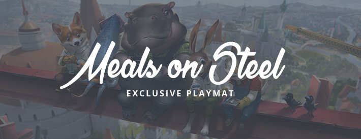 Meals on Steel Exclusive Playmat