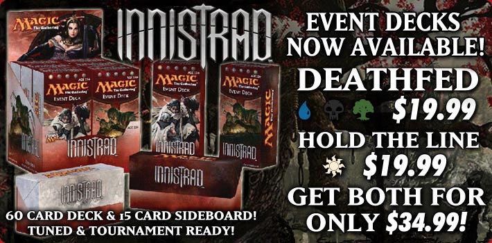 Preorder Innistrad Event Decks on StarCityGames.com!