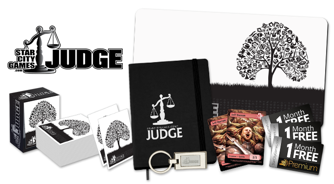 Judge Rewards Items