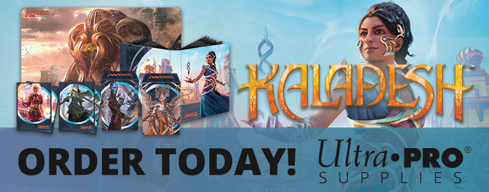 Kaladesh Ultra Pro supplies available today!