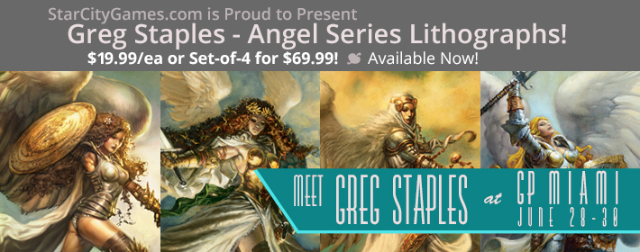 StarCityGames.com is Proud to Present Greg Staples Lithographs!