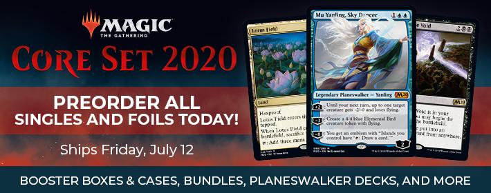 MTG Core Set 2020 - Preorder Today!