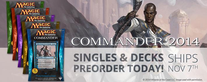 Preorder Commander 2014!