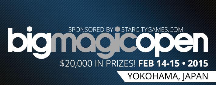 Big Magic Open sponsored by StarCityGames.com