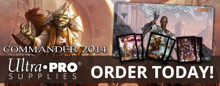 Order Commander 2014 UltraPro Supplies!