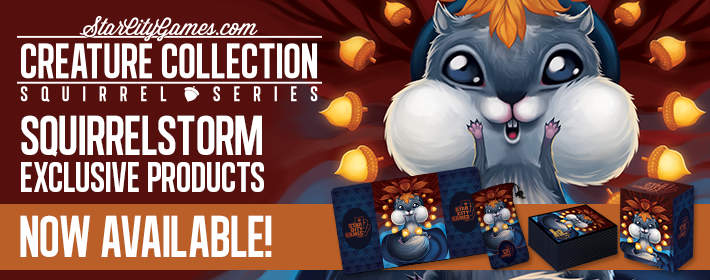 Creature Collection Squirrelstorm