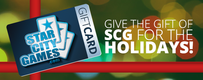 SCG Holiday Gift Card