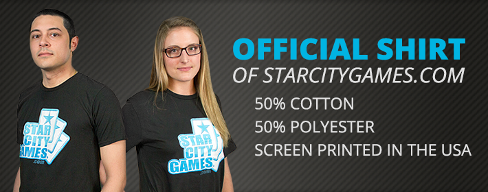 Official StarCityGames.com Shirts!
