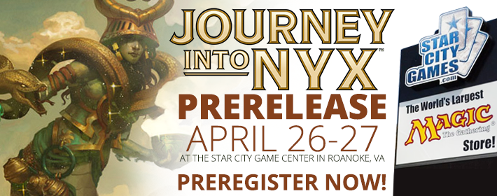 Journey into Nyx Prerelease April 26-27