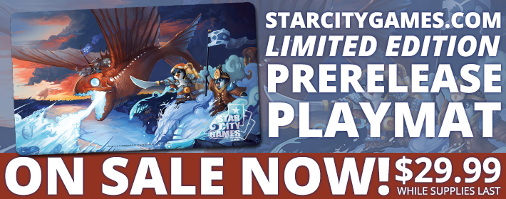 Limited Edition Prerelease Playmat On Sale Now!