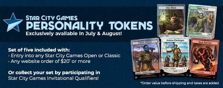 SCG Personality Tokens