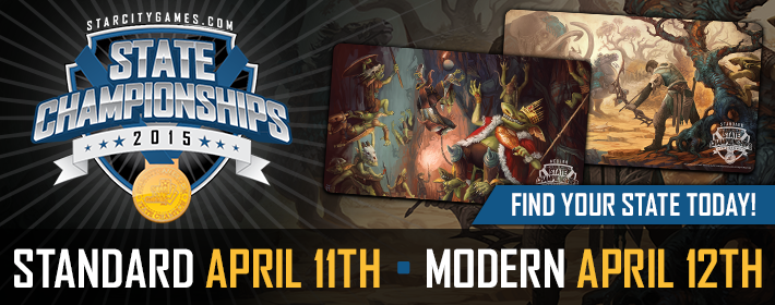 2015 State Championships, Standard - April 11th, Modern - April 12th