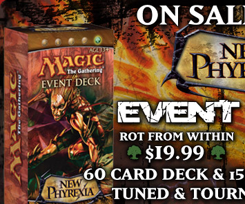 Order New Phyrexia Event Deck Rot From Within Now!