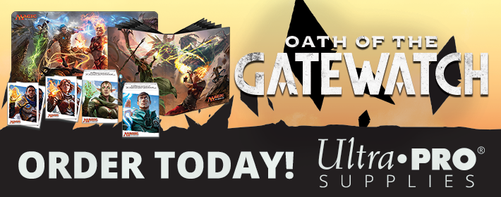 Oath of the Gatewatch Ultra Pro supplies available today!