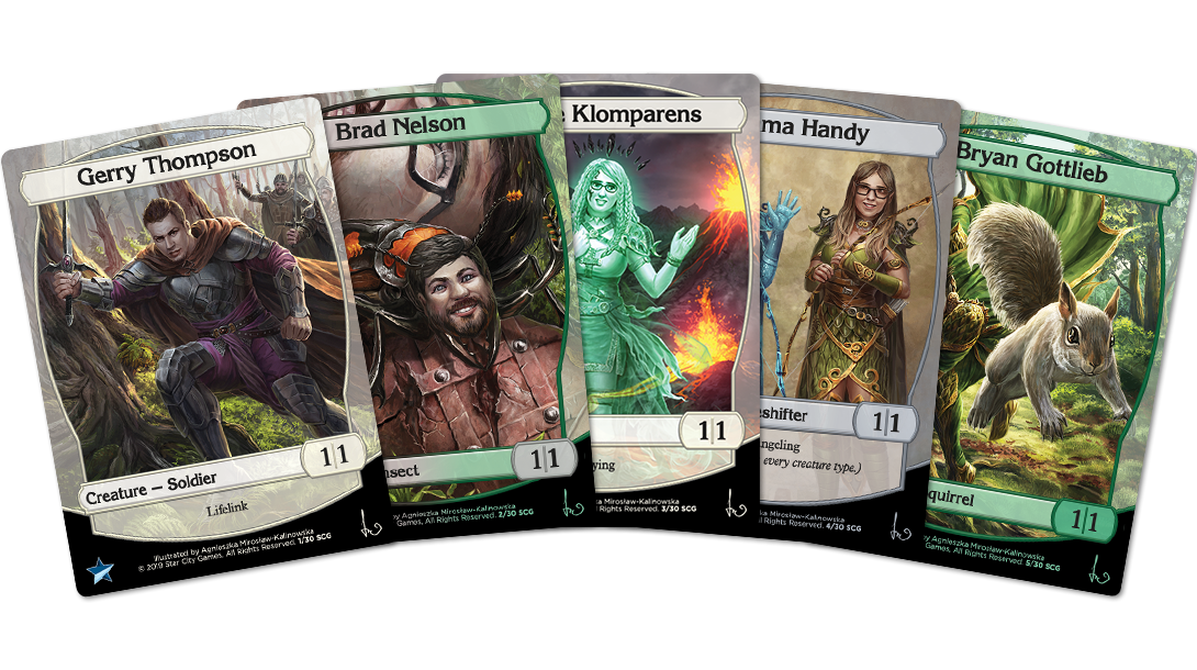 2019 Personality Tokens
