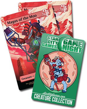 February Game Night Prizes - Magus of the Moo!