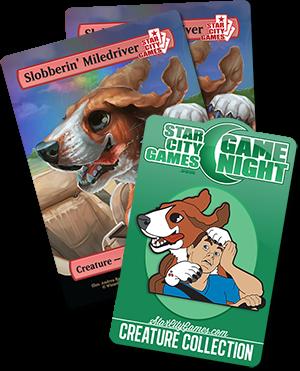 April Game Night Prizes - Slobberin' Miledriver!