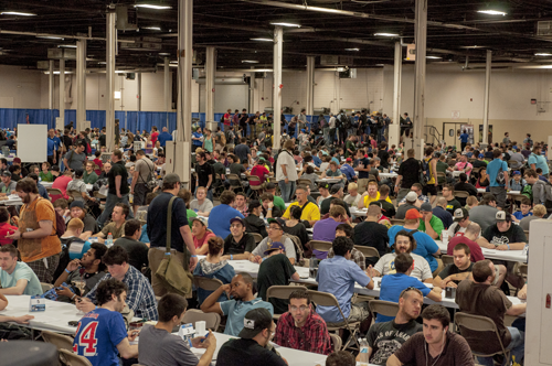 Tournament hall