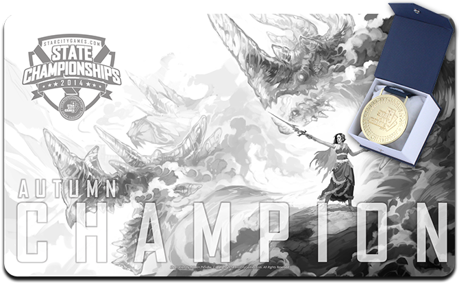Champion's Playmat and Medal #SCGStates