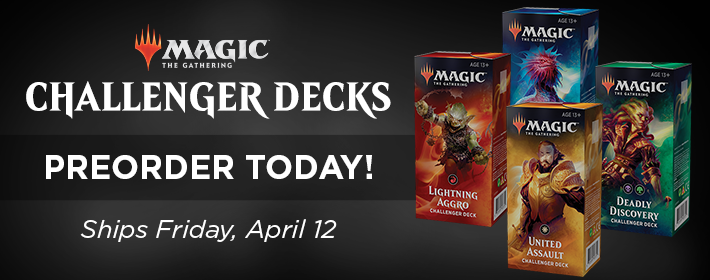 MTG Challenger Decks - Preorder Today!