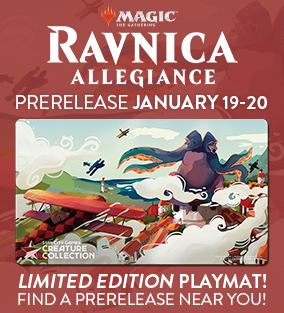 Ravnica Allegiance Prerelease January 19-20