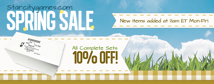 All Complete Sets - 10% Off!