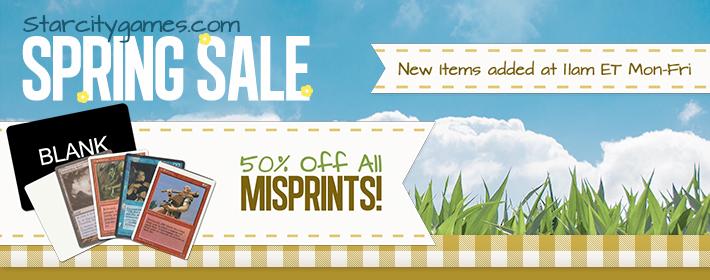 All Misprints - 50% Off!