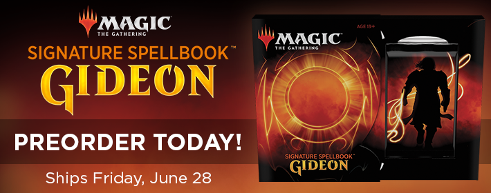 MTG Signature Spellbook: Gideon - Preorder Today!