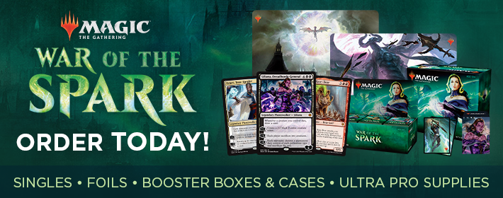 MTG War of the Spark - Order Today!
