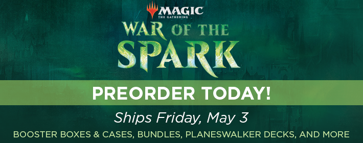 MTG War of the Spark - Preorder Today!