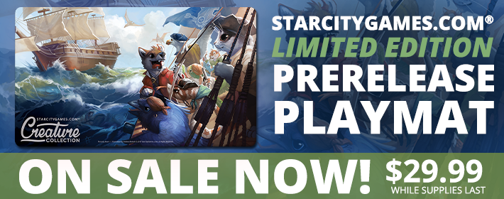 Limited Edition Playmat On Sale Now!