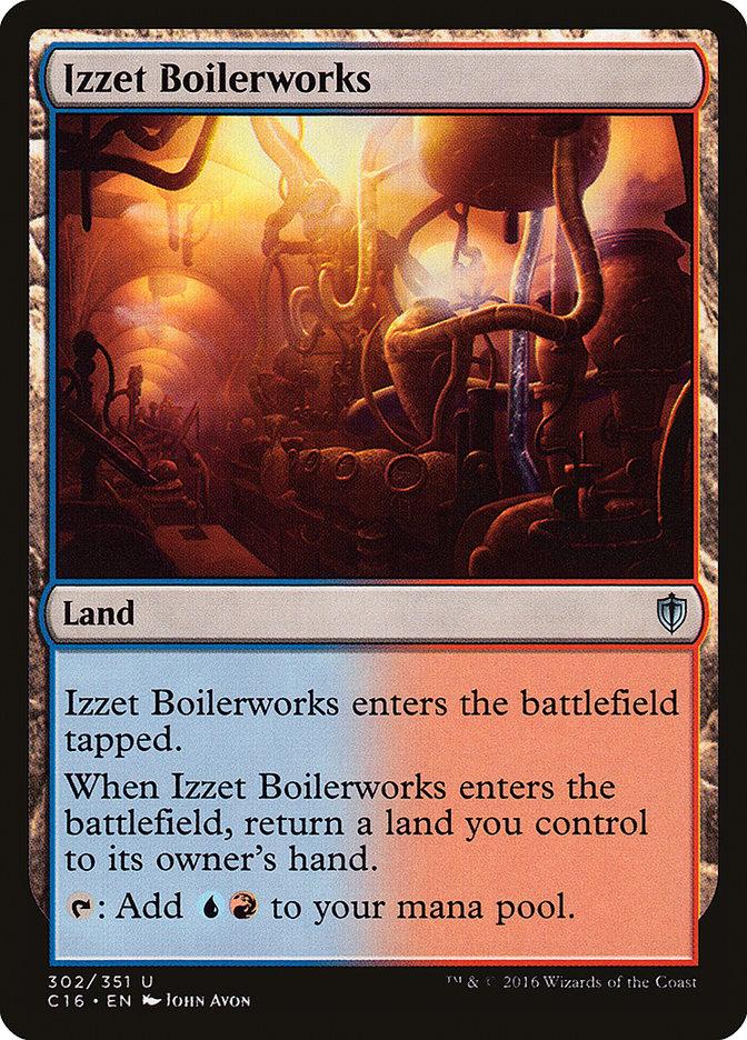Izzet+Boilerworks