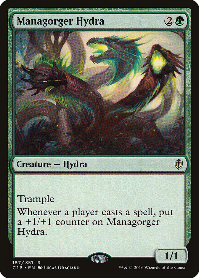 Managorger+Hydra