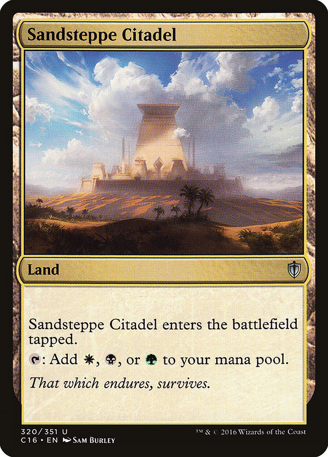 Sandsteppe+Citadel