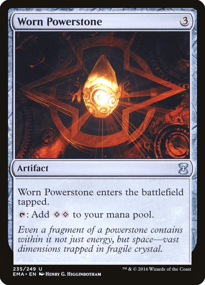 Worn+Powerstone