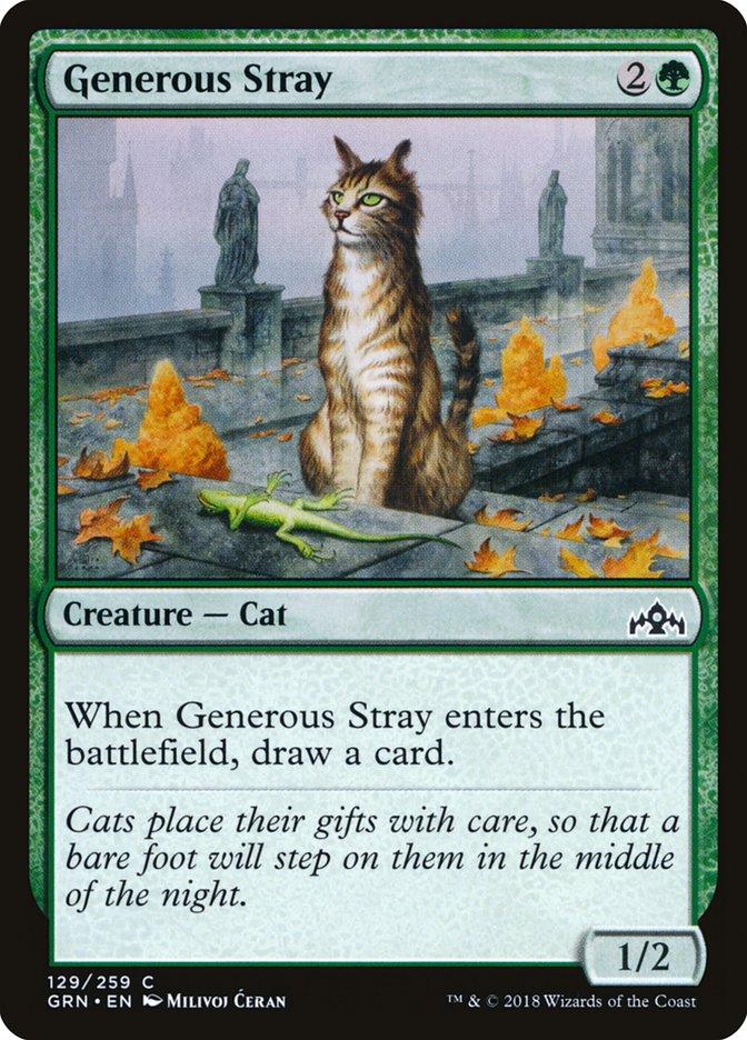 Generous+Stray