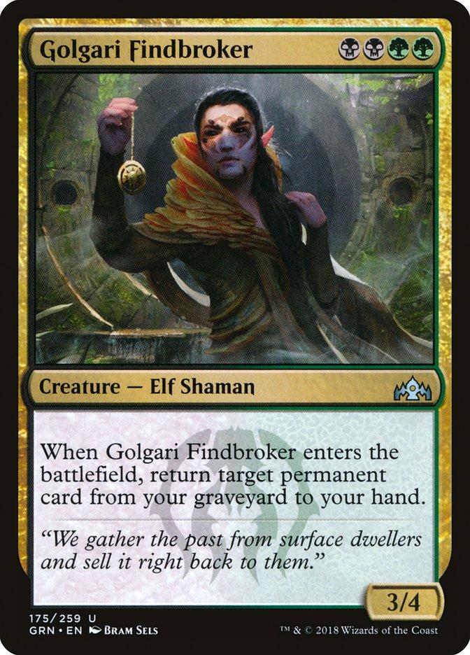 Golgari+Findbroker