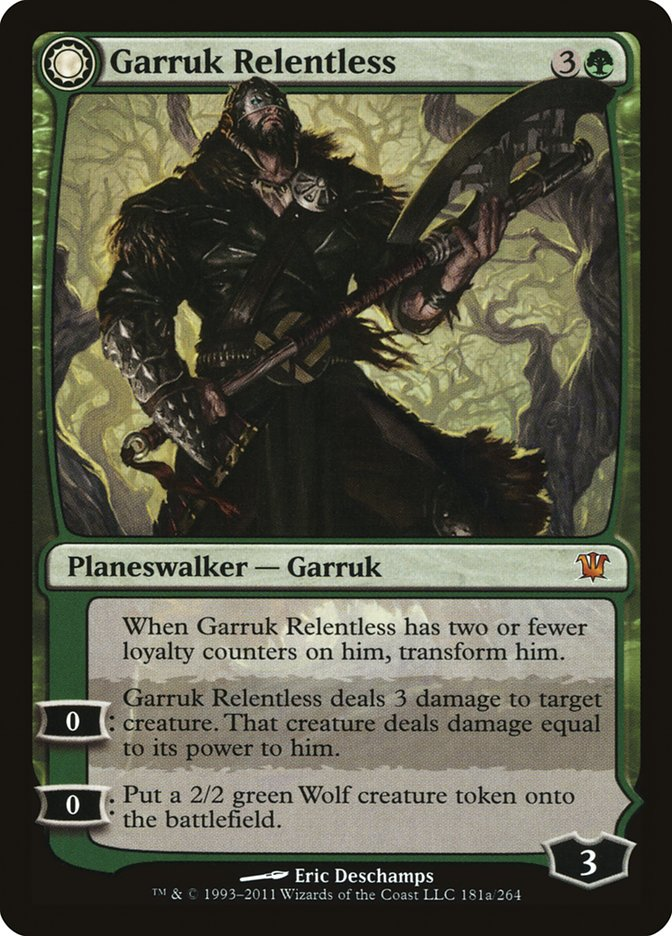 Garruk+Relentless