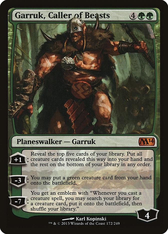 Garruk%2C+Caller+of+Beasts