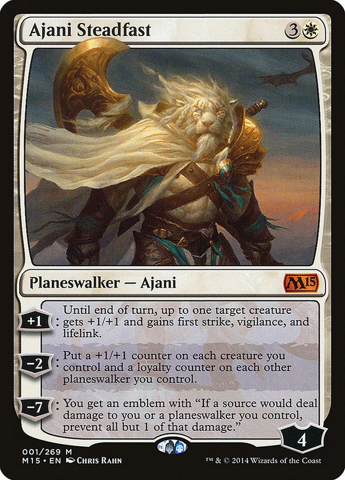 Ajani+Steadfast