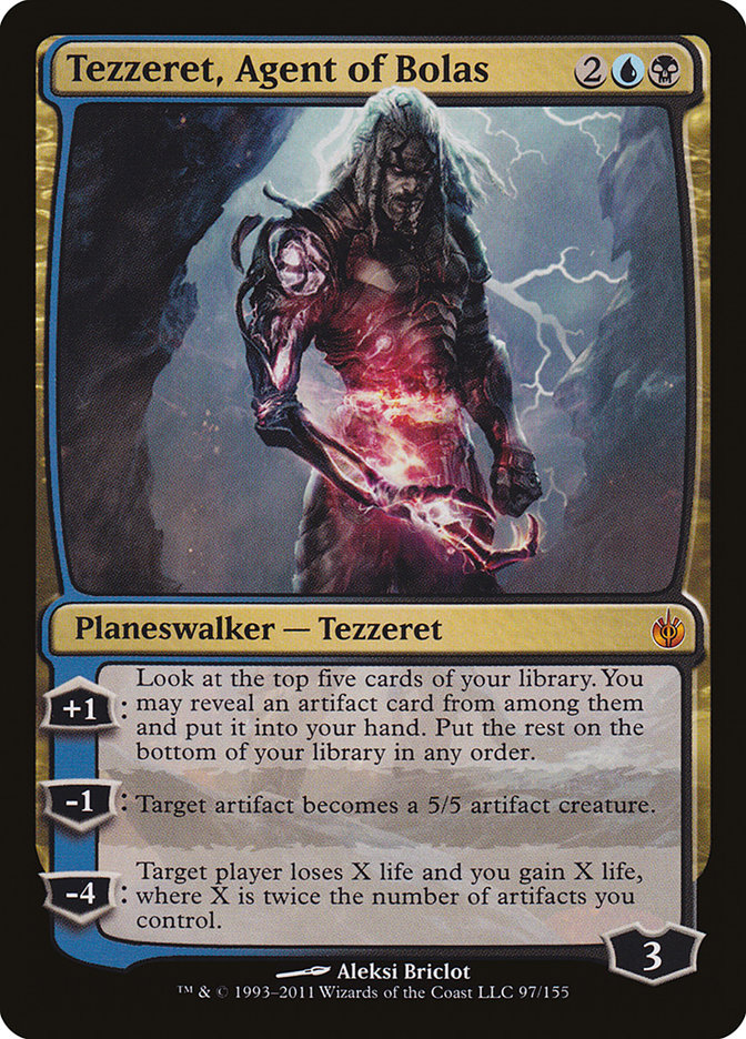 Tezzeret%2C+Agent+of+Bolas